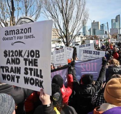 Here's how politicians and tech execs are reacting to the surprise news of Amazon pulling its new headquarters from New York City