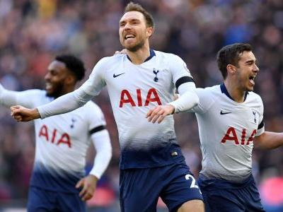 Tottenham beat Leicester with Sanchez, Eriksen, Son goals as Vardy misses penalty with first touch