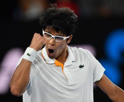 Novak Djokovic is upset by Hyeon Chung; Tennys Sandgren is on a roll