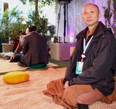 Marc Benioff relies on these monks for guidance - here are their tips for holding better, more mindful meetings