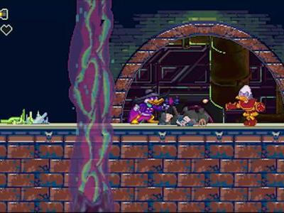 Sonic Mania Developers Release Unused Darkwing Duck Game Pitch