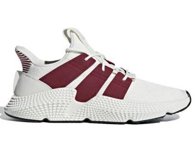 "Adidas Blends ""Cloud White"" & ""Noble Maroon"" on New Prophere Model"