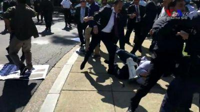 Bipartisan Group in Congress Blasts Turkish Thugs' Attack on Protesters, Introduce Resolution