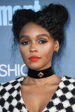 Janelle Monáe Just Rocked Edgy Space Buns at the 2017 Critics' Choice Awards