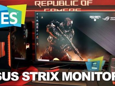 CES 2019: ASUS goes big with the 43-inch, 4K, 120Hz Strix XG438Q monitor