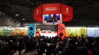 Hands-on: Nintendo Switch won't blow you away but will satisfy core gamers
