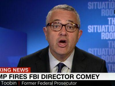'This is not normal. This is not politics as usual'- A former federal prosecutor scorches FBI director's firing