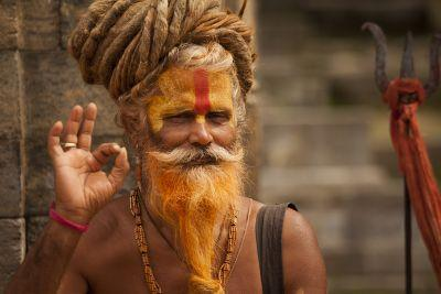 Sadhu, Pashupatinath Temple, Kathmandu - Nepal Photo of the Day