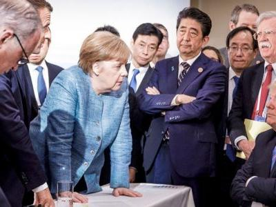 8 photos show just how tense things were between Trump and other world leaders at the G7 summit