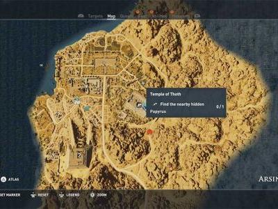 Assassins Creed Origins - Hidden Ones Papyrus Puzzle Guide