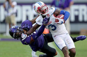 SMU upset No. 25 TCU, winning the Iron Skillet for the first time since 2011