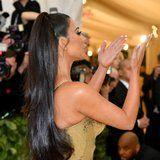 Kim Kardashian's Met Gala Manicure Got Delivered in the Most Extra Way Possible