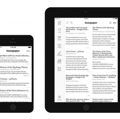 Instapaper Service Temporarily Suspended in Europe due to GDPR