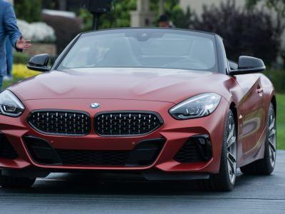 BMW unveils the tech-filled, aggressive-looking Z4 Roadster