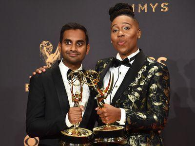 Lena Waithe and Aziz Ansari Win Emmy for Master of None's Thanksgiving Episode