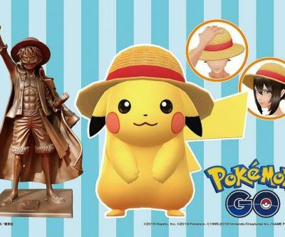 Pokemon Go collaboration with One Piece will earn you a special Straw Hat Pikachu