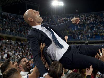 Zidane proves he is not another Di Matteo as Madrid stroll to La Liga glory