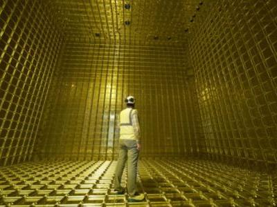 First Particle Tracks Seen in ProtoDUNE: the Prototype for an International Neutrino Experiment