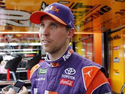 Championship driver Busch takes top pit stall from Hamlin