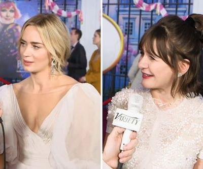 'Mary Poppins Returns' cast with Emily Blunt quizzed on the original movie