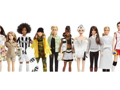 Barbie unveils dolls based on Amelia Earhart, Frida Kahlo, Katherine Johnson and Chloe Kim