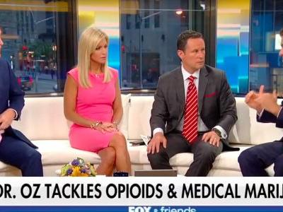 Watch Dr. Oz surprise the hosts of 'Fox & Friends' by talking about America's pot 'hypocrisy'