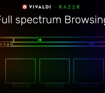 Vivaldi browser now supports Razer Chroma