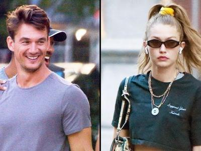 Tyler Cameron and Gigi Hadid Are Still Going Strong - See Pics of Him Leaving Her Apartment