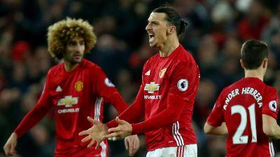 Ibrahimovic's late goal salvages draw for Man United vs. Liverpool
