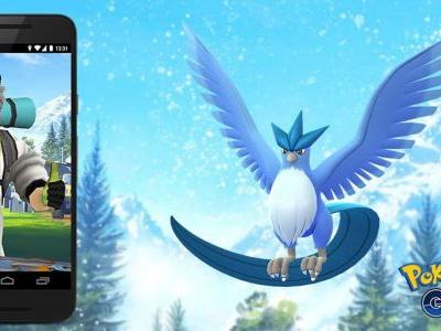 Articuno To Be Pokémon GO's Next Research Breakthrough Reward