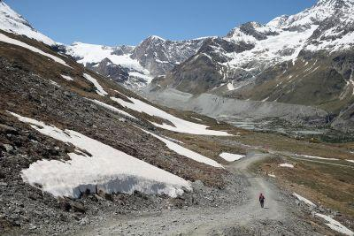 Bodies of a couple that disappeared in 1942 have been found in a shrinking Swiss glacier