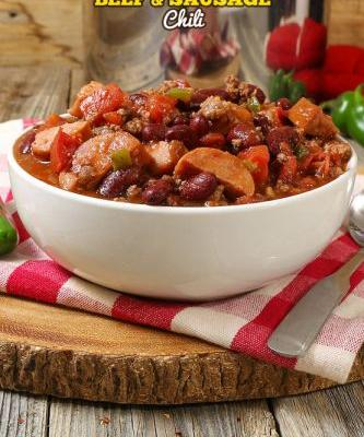 Hearty Beef and Sausage Chili