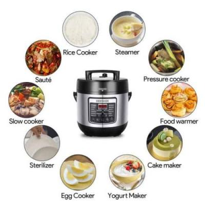 Deenkee Pressure Cooker Review & Giveaway
