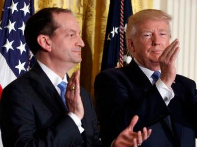Trump's labor secretary who previously cut a plea deal with Jeffrey Epstein says his alleged crimes 'are horrific' amid calls for him to resign