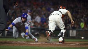 Cubs capitalize, bounce back from tough loss to beat Giants