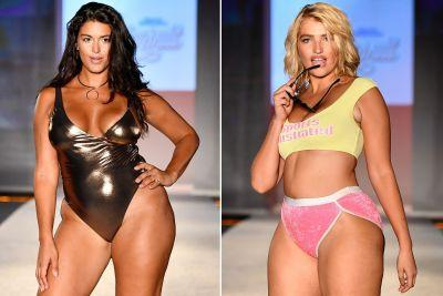 Sports Illustrated models debut sexy swimwear for real women