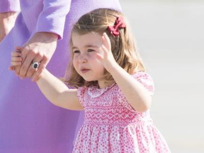 Princess Charlotte Steals the Spotlight on the Royals' 2017 Christmas Card!