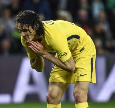 VIDEO: PSG star Cavani produces miss of the season contender