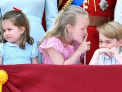 Prince George's cousin Savannah shutting him up is throwback to Harry-Beatrice with Diana