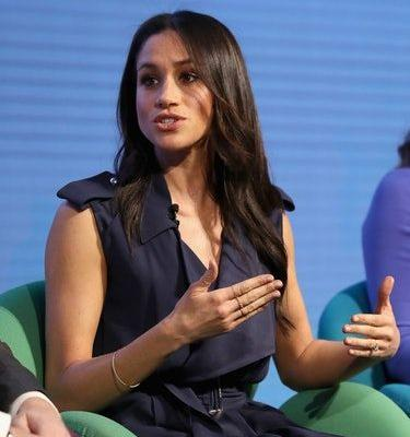 Photos Of Meghan Markle At The Royal Foundation Forum Show Her Ingenious Dress