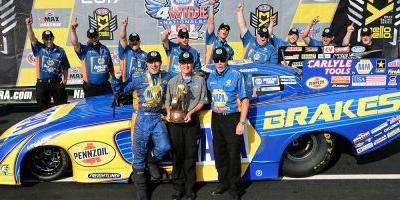 FIFTH WIN FOR DODGE AS CAPPS COVERS FOUR-WIDES