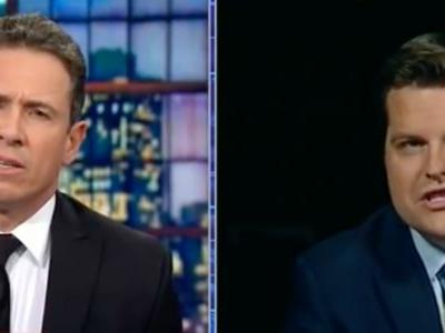 CNN's Chris Cuomo spars with GOP congressman who made bizarre 'immaculate conception' analogy about secret GOP memo