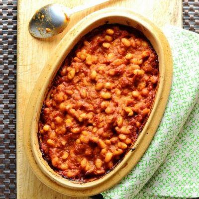 Easy Spicy Baked Beans