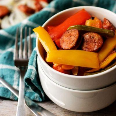 Spicy Sausage and Peppers