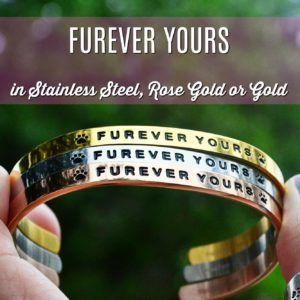 Win our new FUREVER YOURS Bracelet + 25% off coupon code!