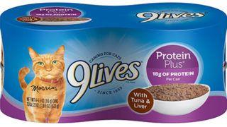Smucker recalls 9Lives cat food; tests showed problem with thiamine
