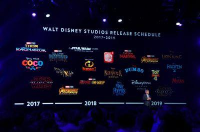 Disney just gave fans a sneak peek of 10 new blockbusters - here's what they got to see