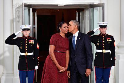 Michelle Obama Wore a Red Jason Wu Dress to Say So Long to the White House