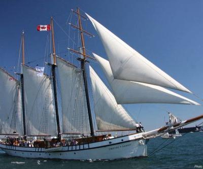 Canada's largest sailing tall ship, the EMPIRE SANDY, will sail into Lake Erie for the Tall Ships Erie 2019 festival, occurring Aug. 22-25, 2019