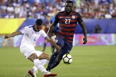 Jozy Altidore gets his shoulder bit and nipple pulled in US win